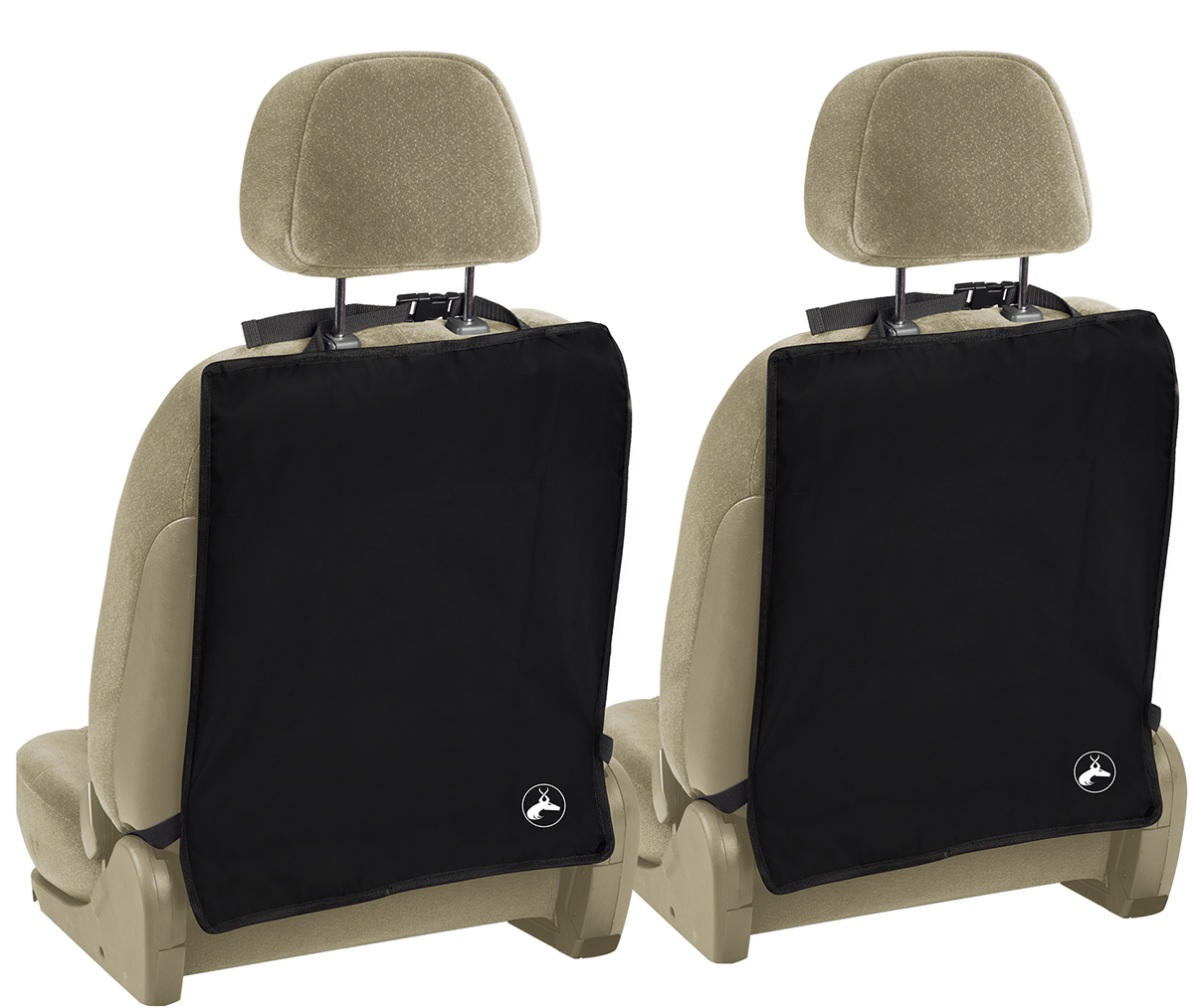 kick mats for auto car back seat cover care kid protector cleaning 2 pack set ebay. Black Bedroom Furniture Sets. Home Design Ideas